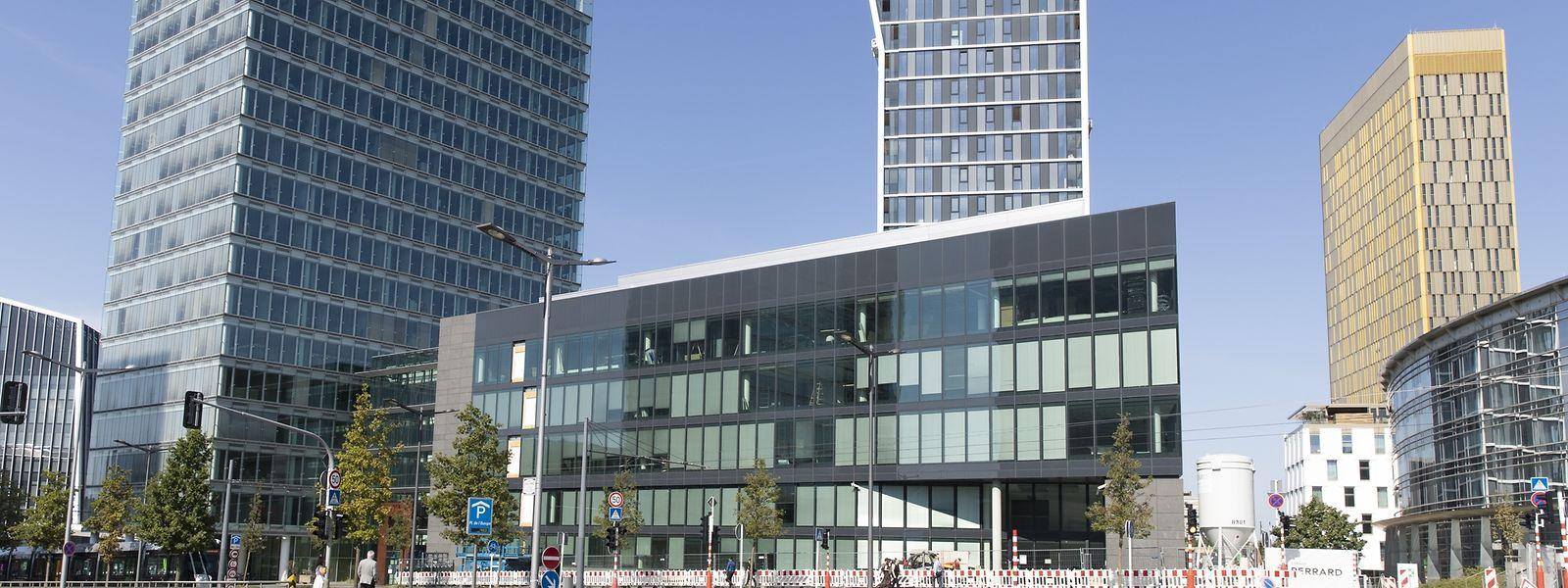 D'ici quelques semaines, le parquet européen prendra place au sein de la Tour B et de son annexe.