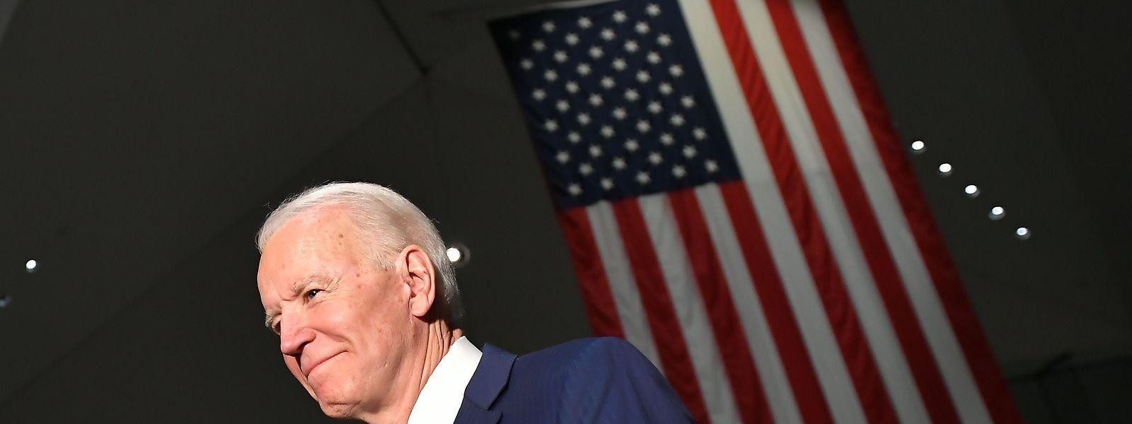 Vor wenigen Wochen noch abgeschrieben, feierte Joe Biden ein fulminantes Comeback.