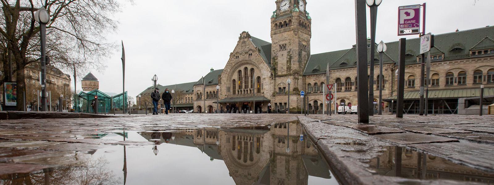 Ville de Metz, Moselle, Lorraine, Frontaliers, Gare de Metz, SNCF, Foto: Chris Karaba/Luxemburger Wort