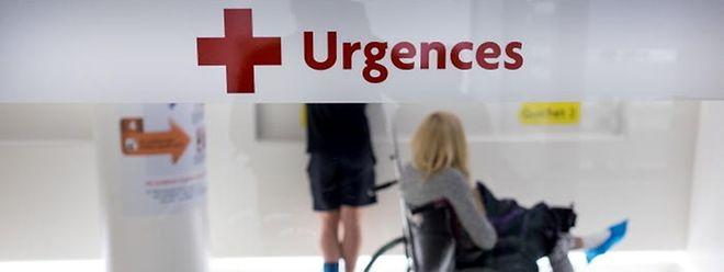 """In den """"Urgences"""" der Krankenhäuser herrscht Hochbetrieb von morgens früh bis spät abends. Dieses Jahr werden voraussichtlich 225.000 Personen in der Notaufnahme gewesen sein, laut Schätzungen der FHL"""