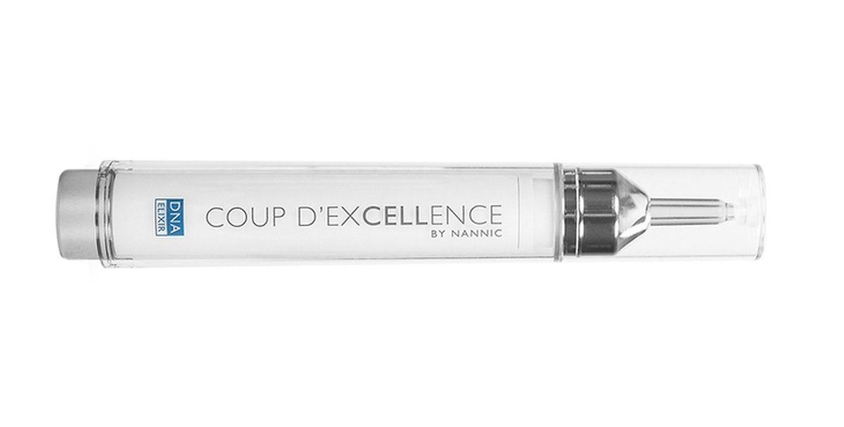 """Verjüngendes Elixir """"Coup d'Excellence"""" von Nannic, 15 ml um 89 Euro."""