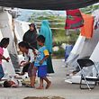 Populações foram deslocadas para abrigos temporários.