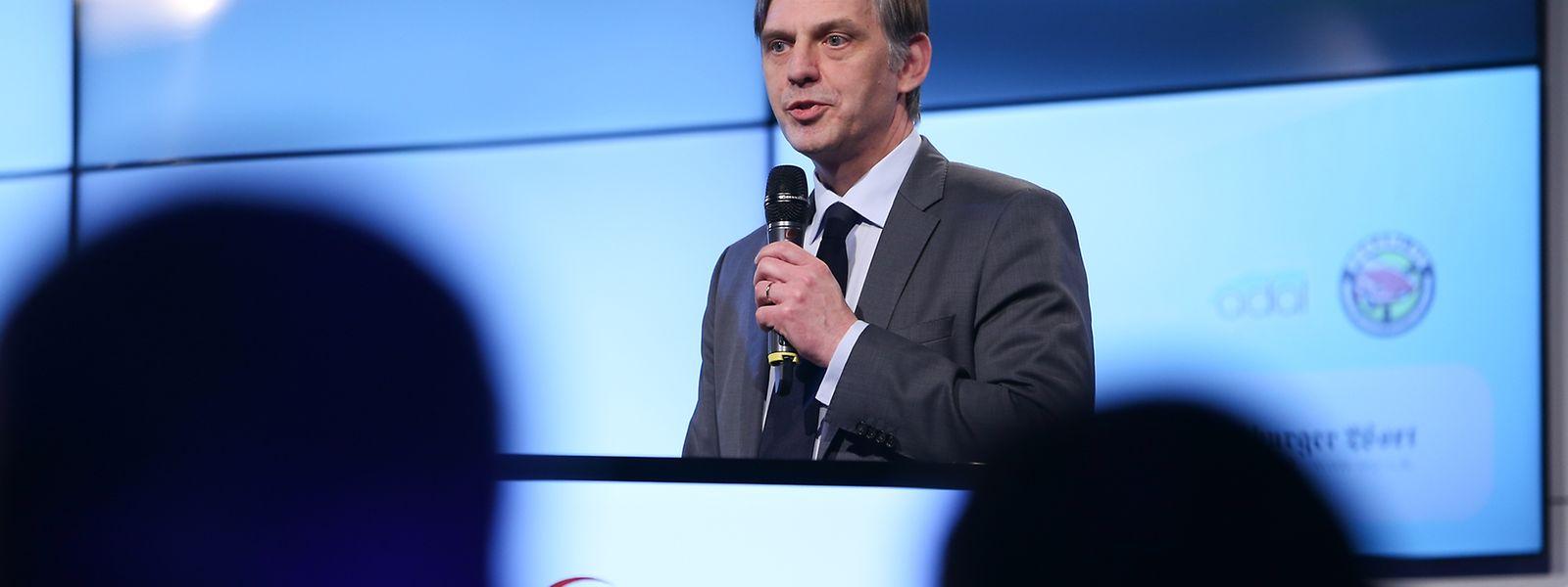 O diretor-geral do grupo Saint-Paul Luxembourg, Paul Peckels