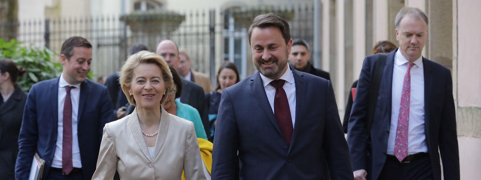 Der letzte Besuch der EU-Kommissionspräsidentin war im Februar 2020.