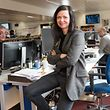 Myriam Muller, Chefredakter fir en Dag. Photo Guy Wolff