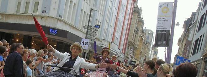 Anders als die Stimmung hier beim Streetfestival in Esch, ist die Kommunkation rund um die Kandidatur zur Kulturhaupstadt derzeit etwas betrübt.