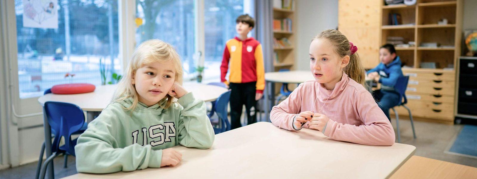 Les jeunes du fondamental auront passé moins d'un mois en présentiel dans leur classe depuis la rentrée de janvier.