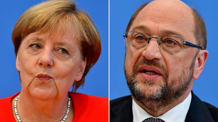 German opposition leaders fault Merkel-Schulz debate