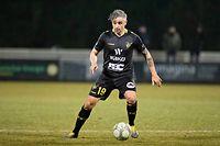 Mario Mutsch (Niederkorn 19) / Fussball, Nationaldivision, Niederkorn - Rosport / Niederkorn / 01.03.2019 / Foto: Christian Kemp