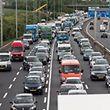 30.6.Autobahn Contournement entre Croix de Gasperich et Croix de Cessange / Stau / Bouchon / Mobilite / Auto Foto:Guy Jallay