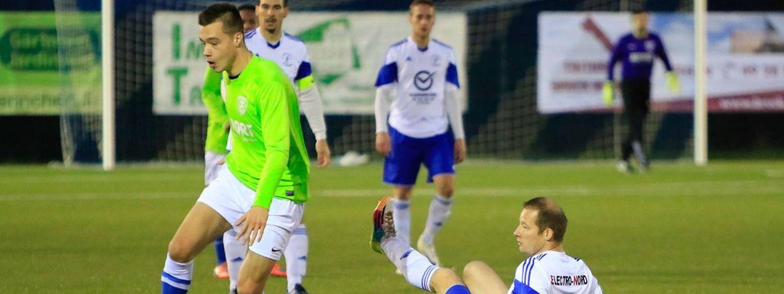 Dany Barrela prend le meilleur sur Alex Schenk. Medernach a disposé de Hosingen 4-1.