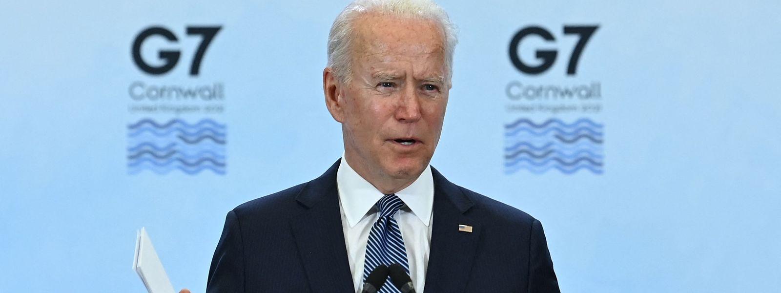 US-Präsident Joe Biden ist einer der Taktgeber bei der globalem Reform der Unternehmenssteuern.