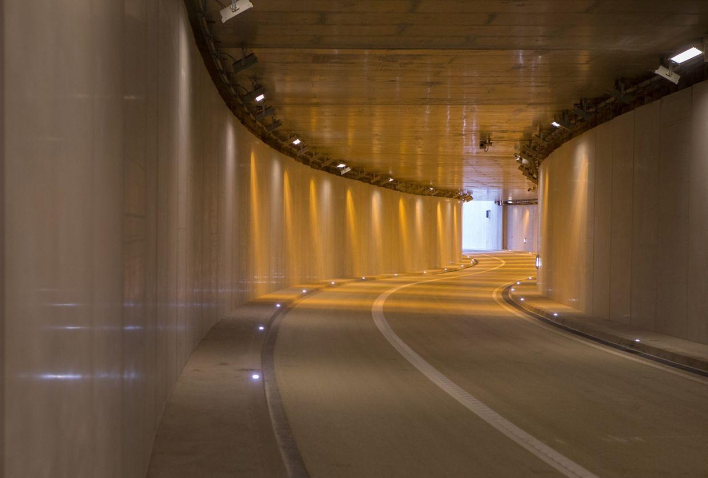 Die Unterführung ist insgesamt 360 Meter lang.