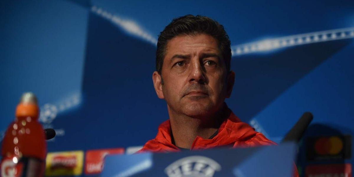 Rui Vitória, treinador do Benfica.