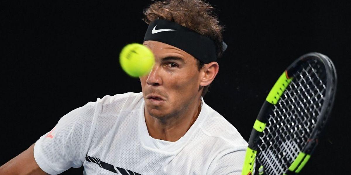 Rafael Nadal a toujours l'oeil...