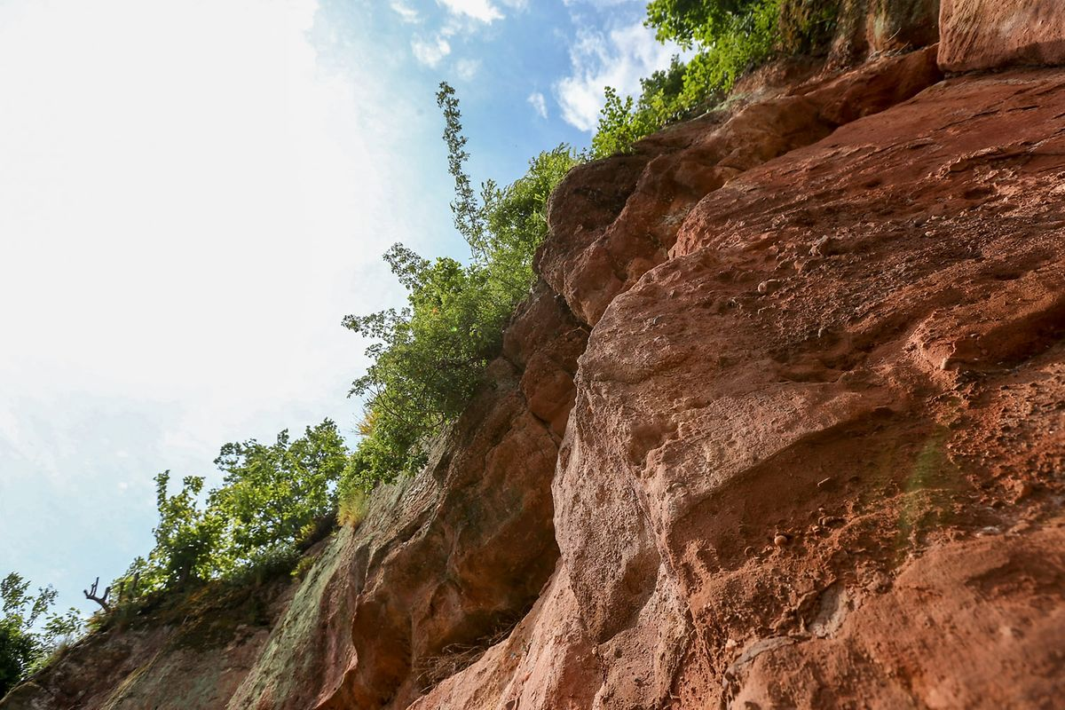 Von diesen Klippen stürzte die 21-Jährige am 7. Juni 2007 herunter.