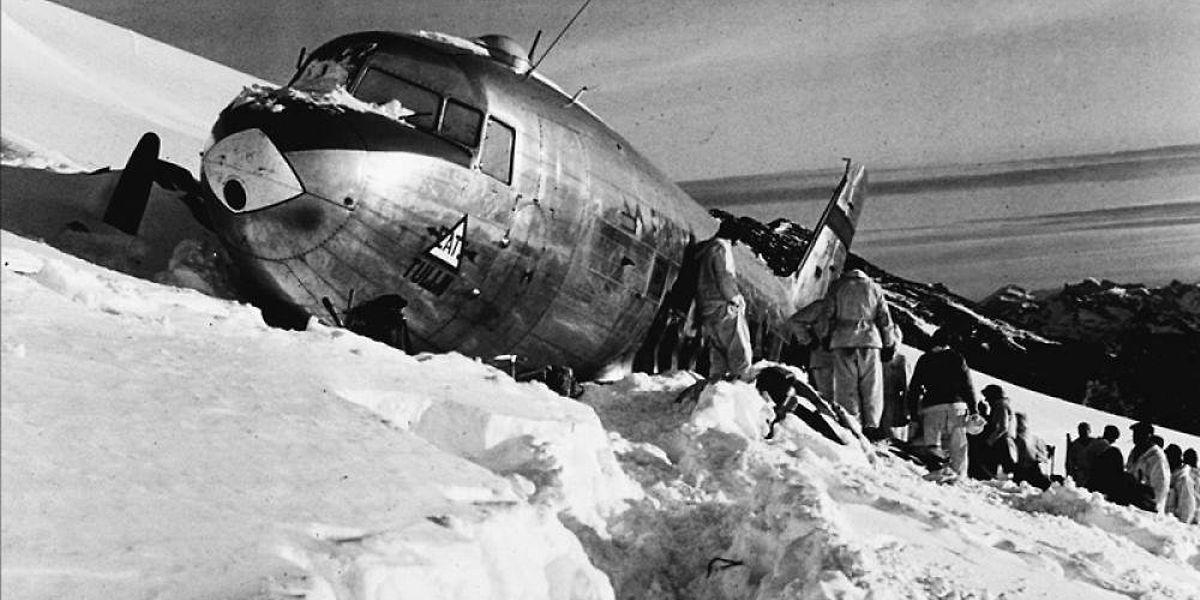 Die Maschine vom Typ C-53 Skytrooper Dakota war am 19. November 1946 auf dem Weg von Österreich nach Italien notgelandet.