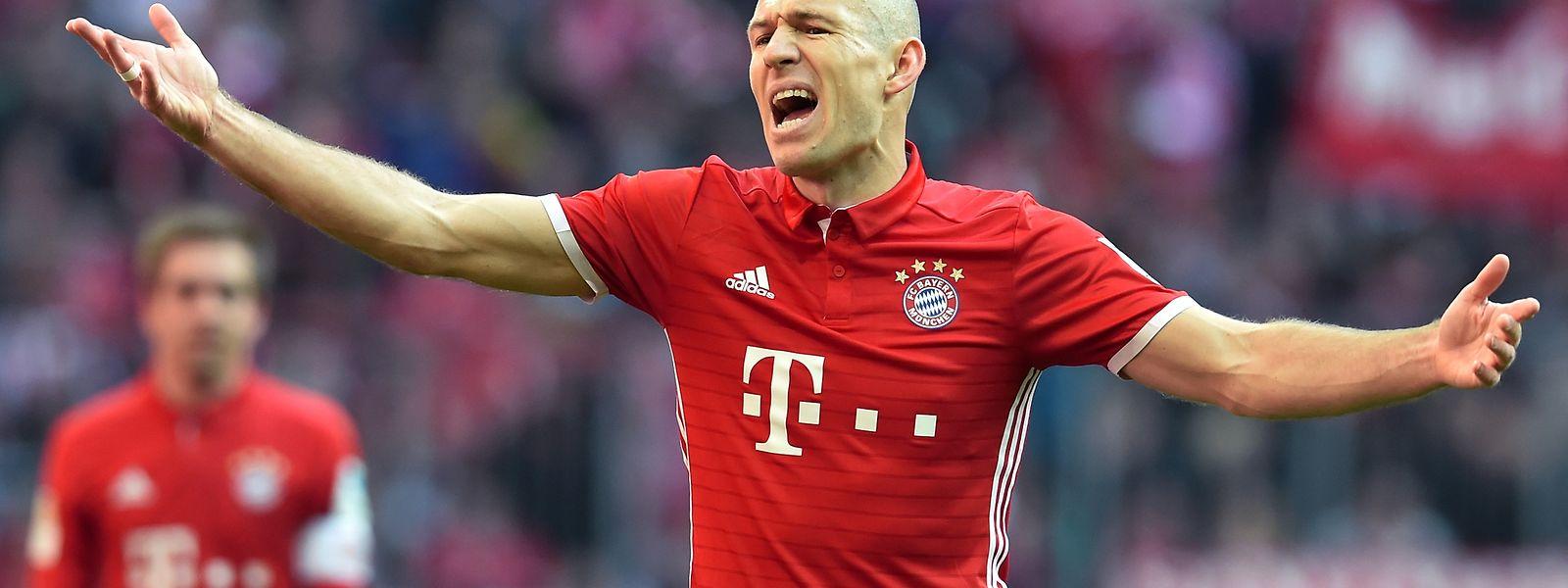 Arjen Robben und der FC Bayern müssen gegen Real Madrid antreten.