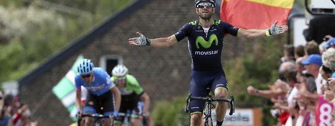 Alejandro Valverde war am Mittwoch nicht zu schlagen.