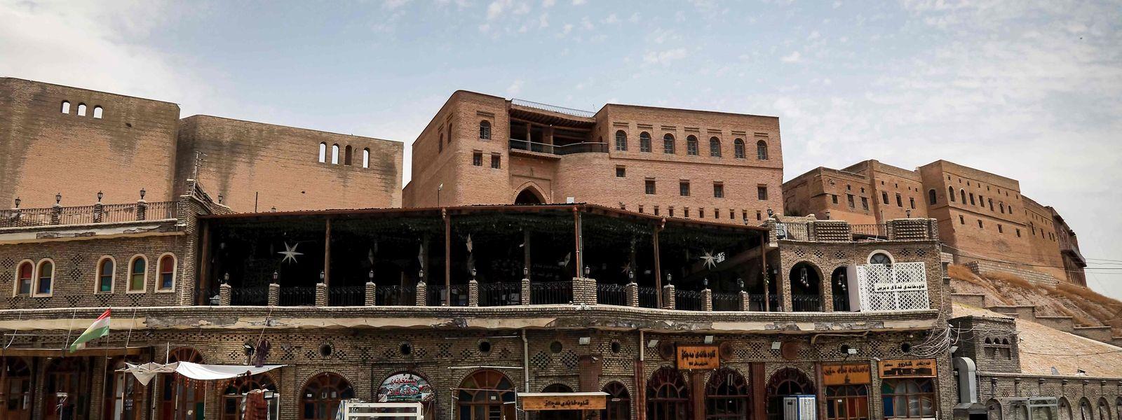 Keine Besucher für das historische Zentrum von Erbil im irakischen Kurdistan.