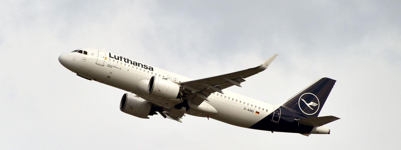 Ein Airbus A320 der Lufthansa.