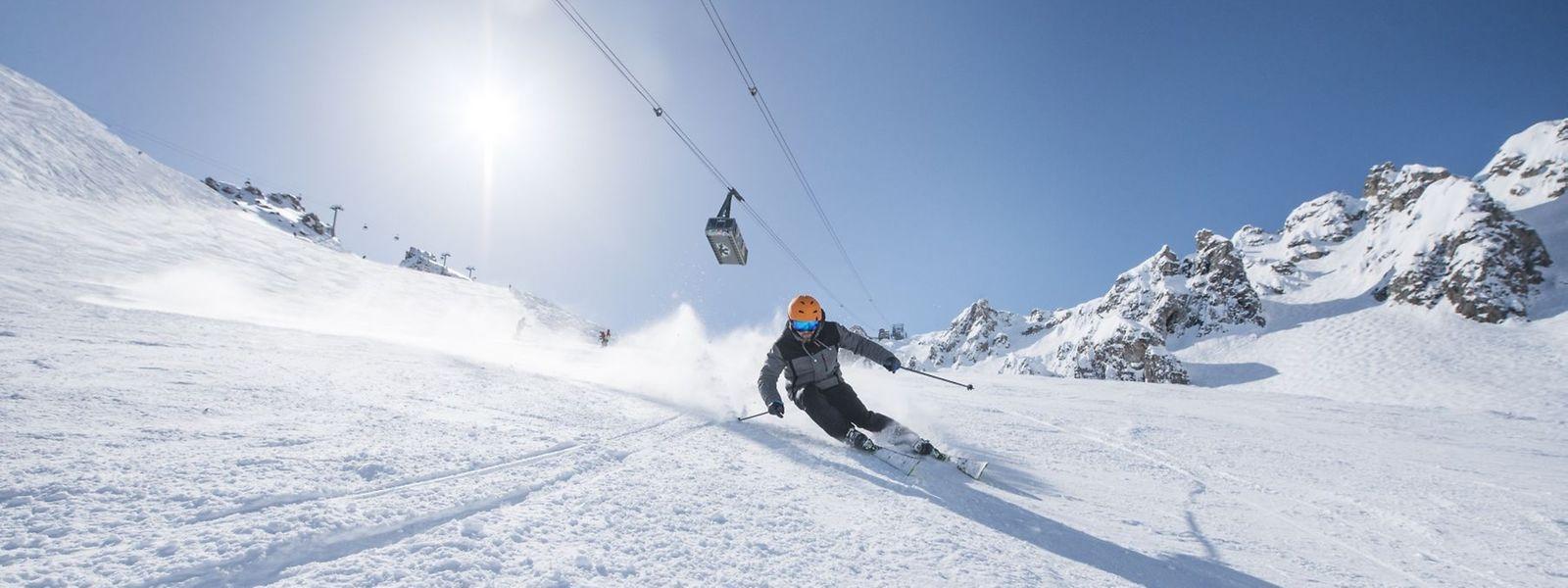 Das größte Skigebiet in Europa: Les 3 Vallées.
