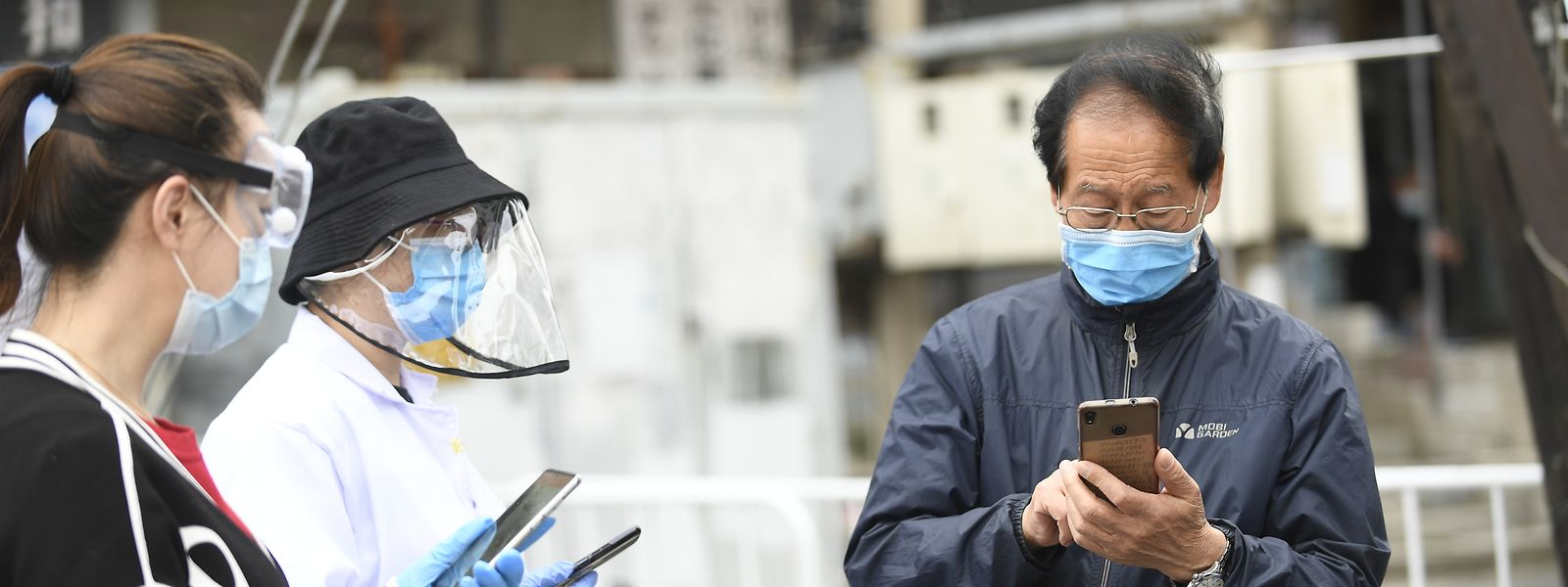 Um in China seinen Alltag zu bewältigen, benötigt man einen grünen Code auf seinem Smartphone.