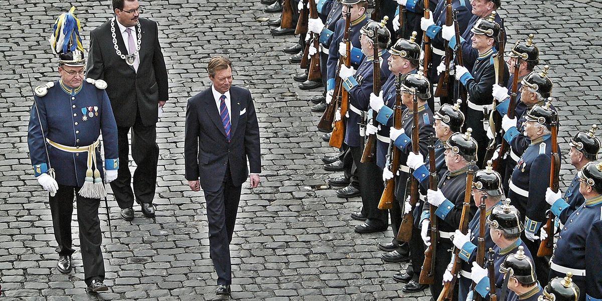 Die großherzogliche Familie pflegt eine besondere Beziehung zur Bürgergarde von Weilburg an der Lahn, die am kommenden Samstag in Schengen zu Gast ist.