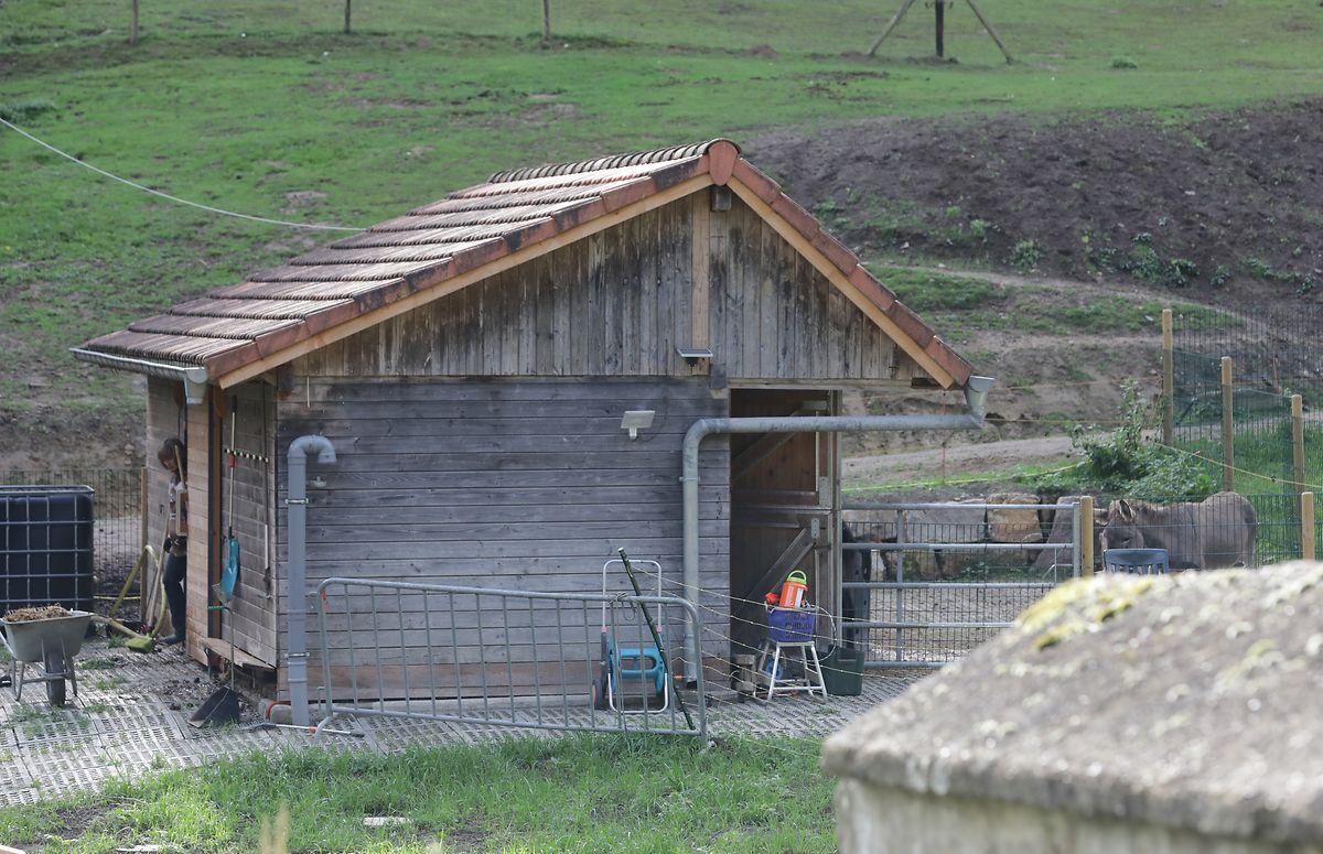 Die Scheune auf der Moulins de Dieschbourg in Echternach, Foto: Chris Karaba
