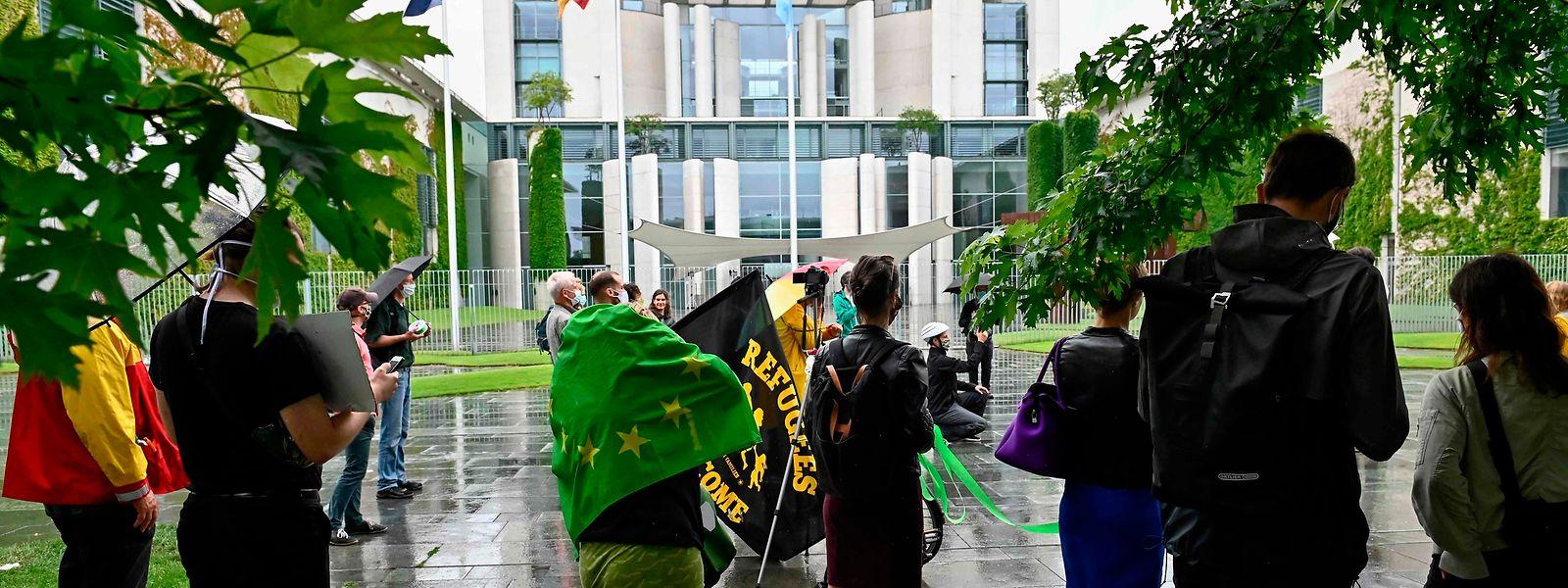 En ce premier jour de présidence allemande de l'UE, des manifestants se sont réunis à Berlin pour rappeler l'importance d'une «Europe verte».