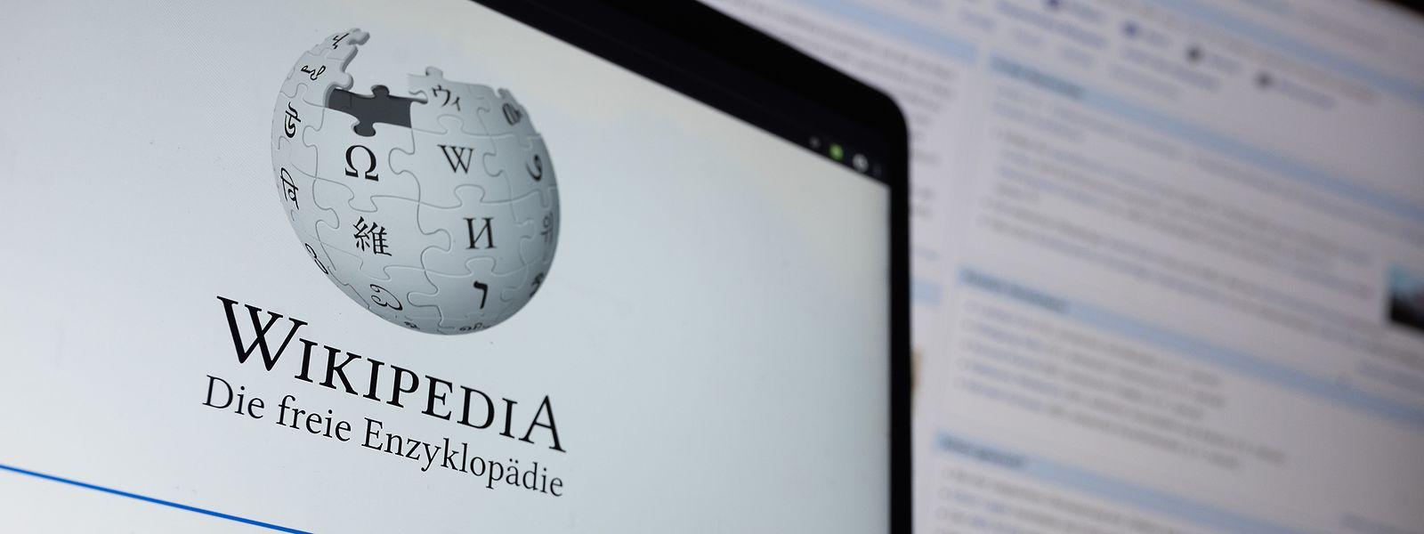Bereits seit 20 Jahren versorgt Wikipedia Menschen auf der ganzen Welt mit Informationen.