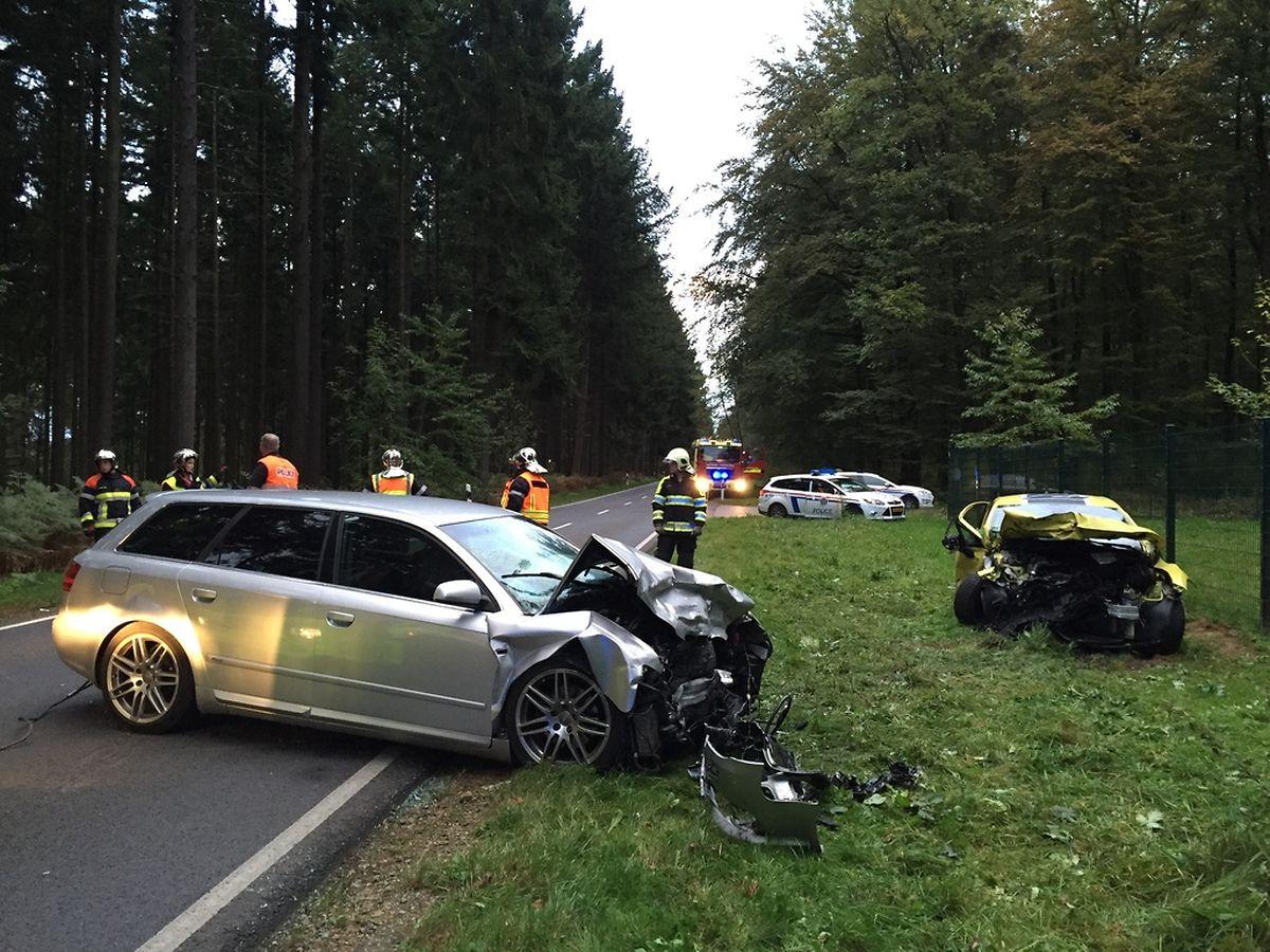 Der Unfall ereignete sich gegen 18 Uhr am Montagabend.