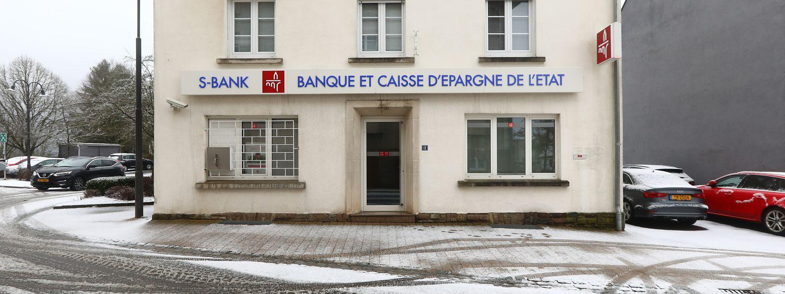 Die Bankfiliale in Hosingen ist eine von zahlreichen Niederlassungen, die in den letzten Jahren geschlossen wurden. Weitere werden folgen, sind sich die Autoren der neuen Studie sicher.