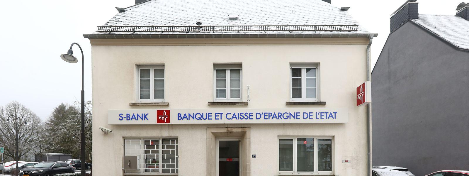 Die Sparkassenfiliale in Hosingen ist eine der 11 Niederlassungen, die geschlossen werden wird.