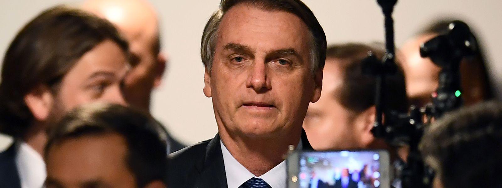 Der brasilianische Präsident Jair Bolsonaro ist erst seit 100 Tagen im Amt – begleitet von zahlreichen Ausrutschern.