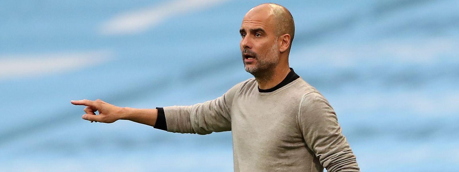 Manchester Citys Trainer Pep Guardiola will Lyon keineswegs unterschätzen.