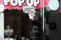 Wirtschaft, Geschäftsidee, Pop-Up Store, Concept Store,  Grand-Rue, Sumo, Charles Mersch und Michala Mihalikova  Foto: Luxemburger Wort/Anouk Antony