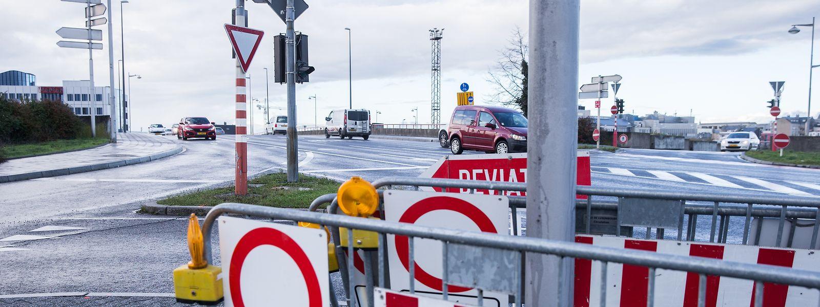 Auch auf dem Pont Buchler wird es für die Verkehrsteilnehmer zu einigen Änderungen kommen.
