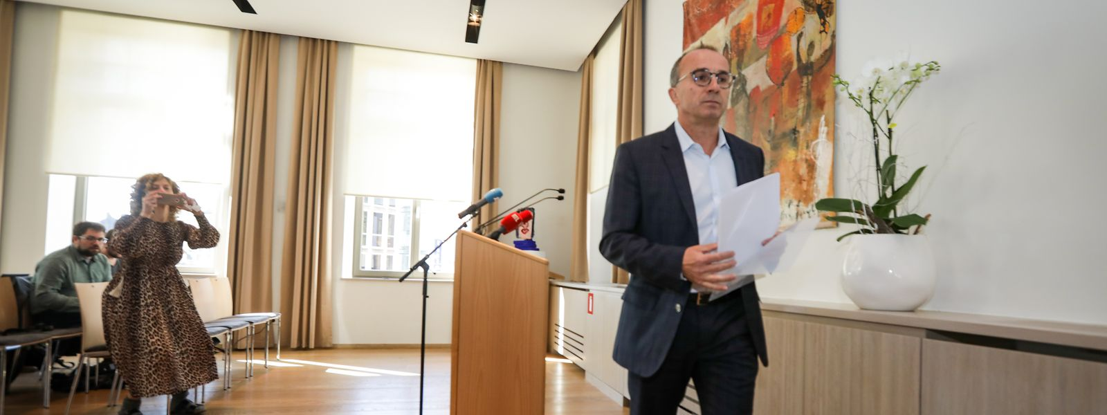 Sans même attendre l'annonce de la Justice, Roberto Traversini a démissionné ce matin.