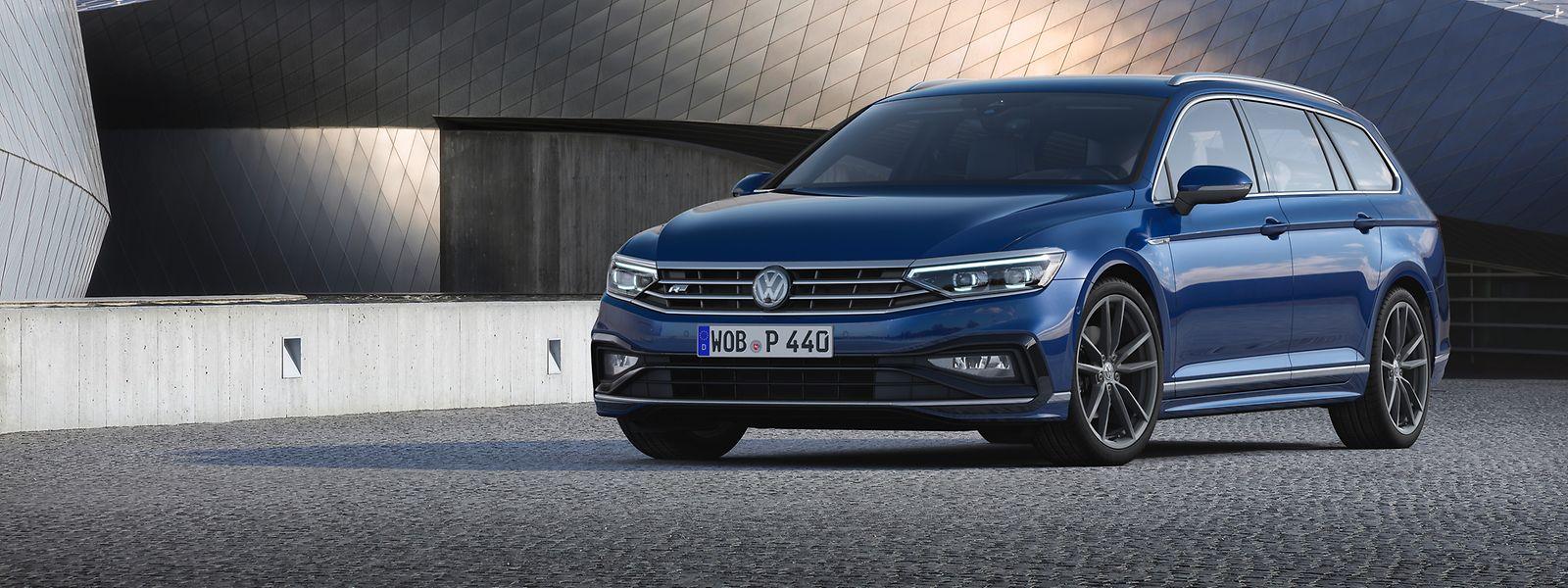 Der Variant genannte Kombi wird dem VW Passat wohl auch weiterhin die Führungsposition in der Mittelklasse sichern.