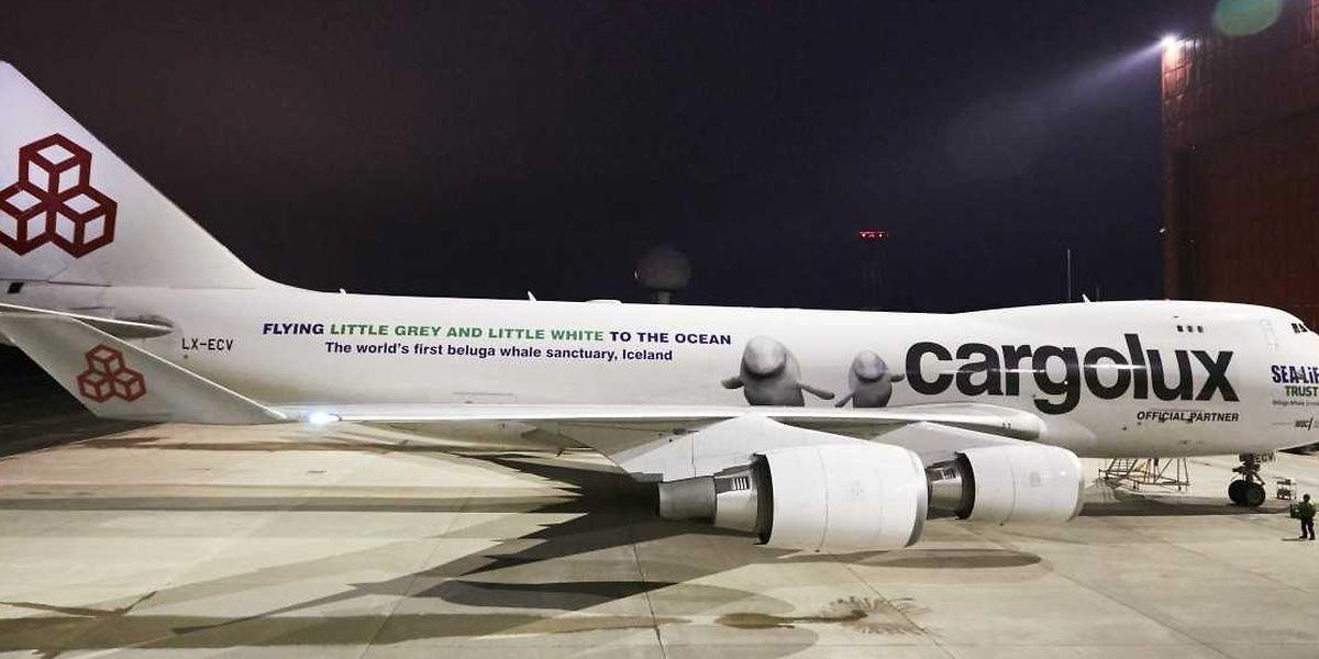Les appareils de Cargolux assurent 23 liaisons hebdomadaires vers la Chine.