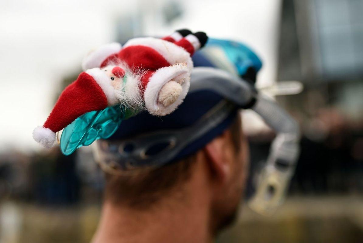 Es war bereits die 108. Ausgabe des traditionellen Weihnachtsschwimmens.