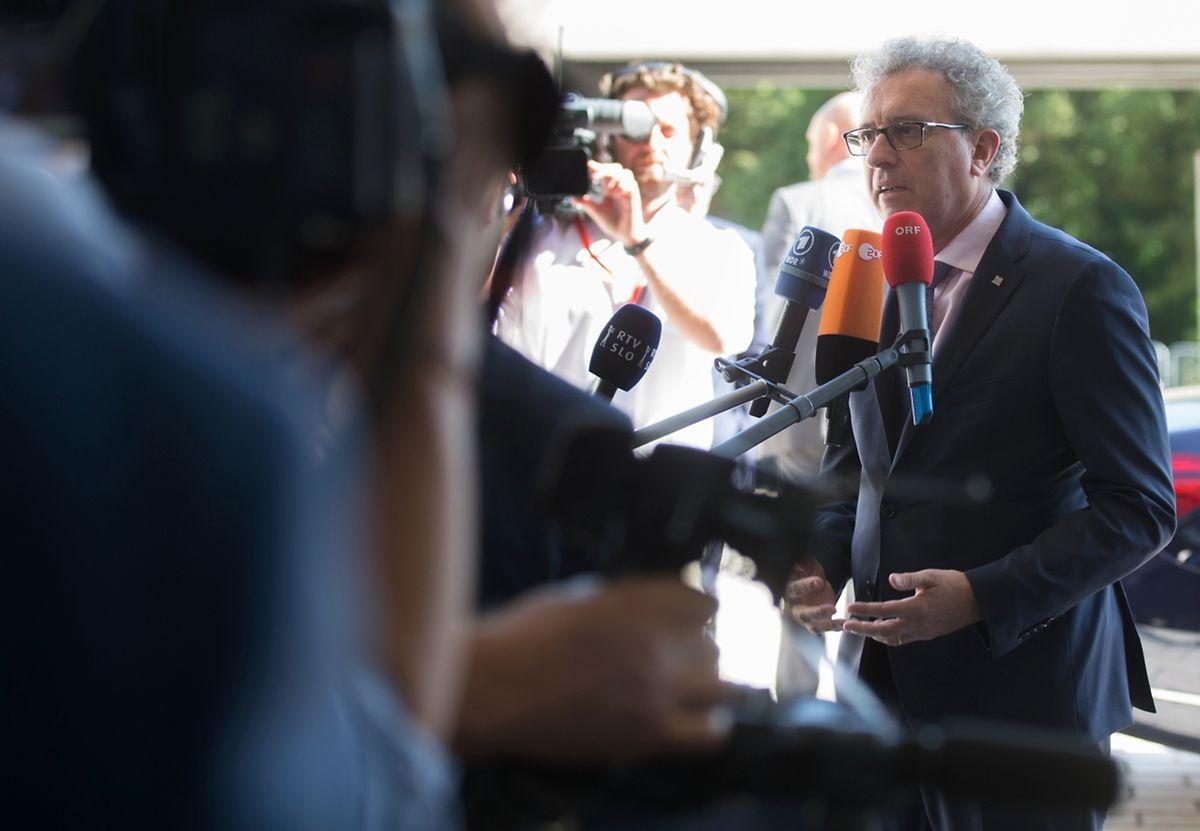 Le Ministre des Finances Pierre Gramegna accueillait ses homologues européens en sa qualité de président de l'Ecofin.