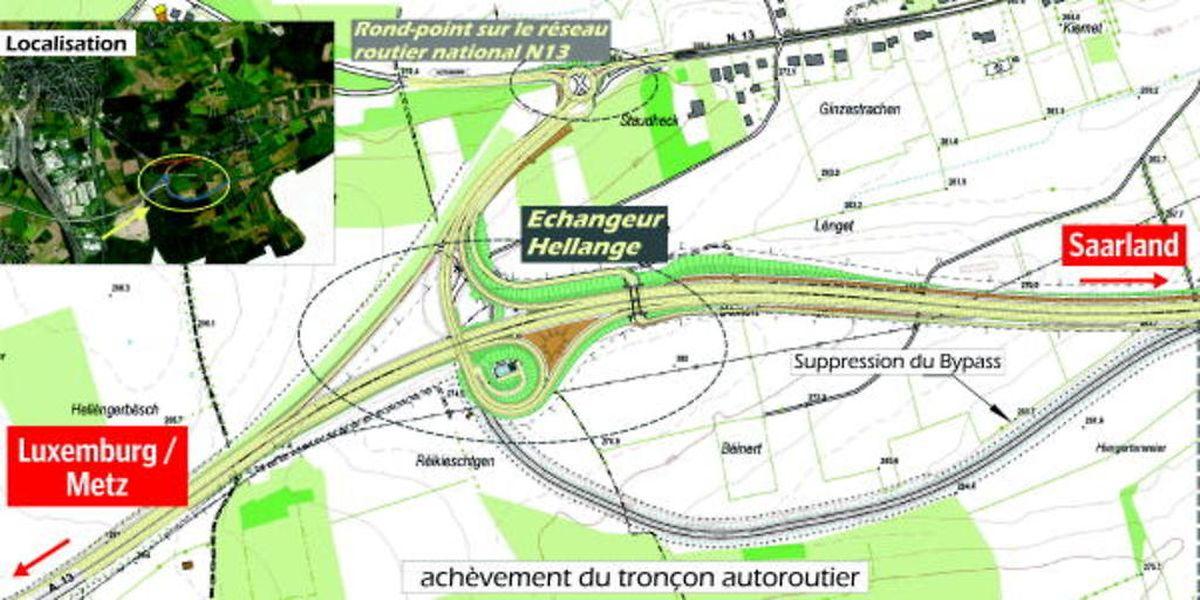 Lücke auf der Saarautobahn: Nach 16 Jahren ist Besserung in Sicht.