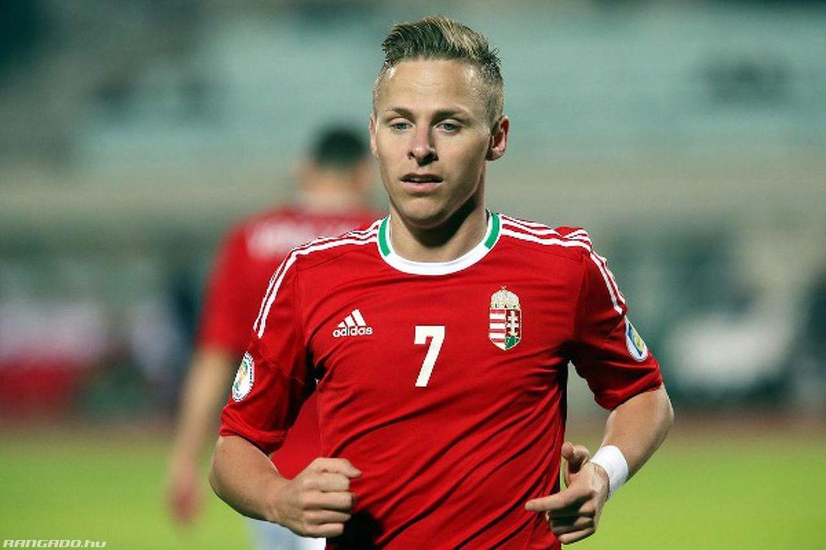 Le routinier attaquant Balázs Dzsudzsák est l'icône de l'équipe hongroise