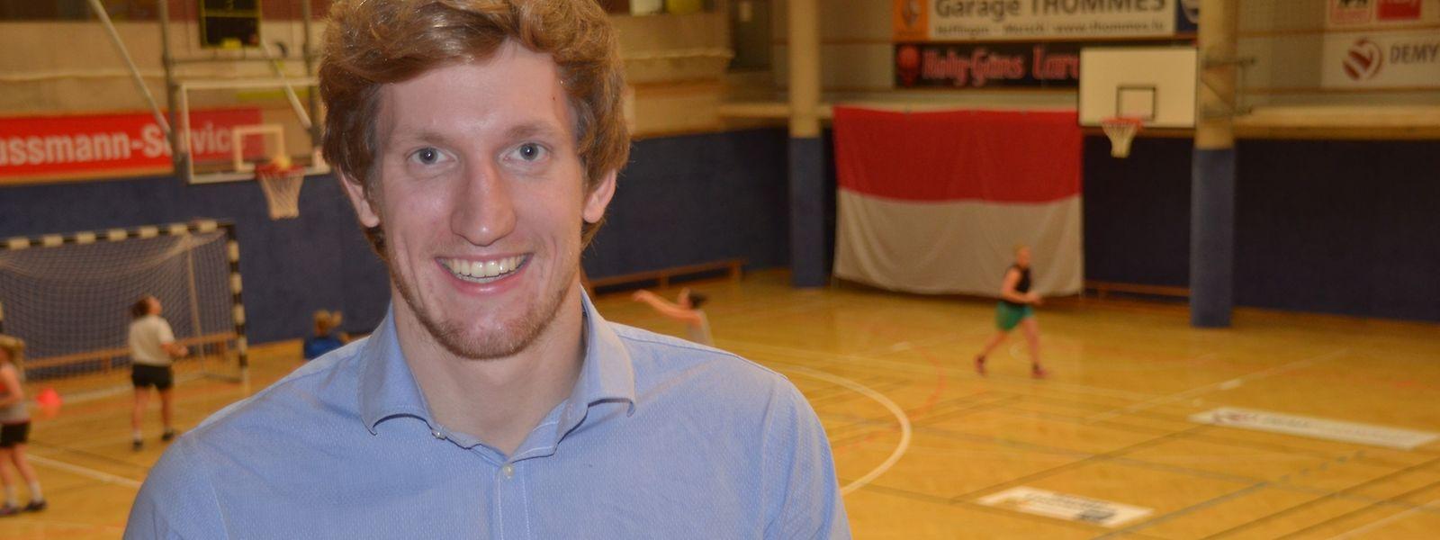 Laurent Carnol hat neben seiner Karriere als Leistungssportler auch studiert.