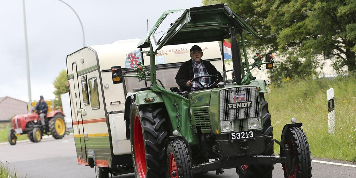 Mit dem alten Fendt Farmer nach Südtirol: Solche Ziele setzen sich nur echte Oldtimer-Traktorfans.