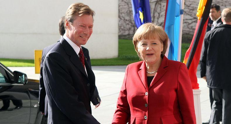 24.04.12 Staatsvisite Berlin,Deutschland,Besuch Bundeskanzleramt,Angela Merkel ,Potsdam.Foto:Gerry Huberty