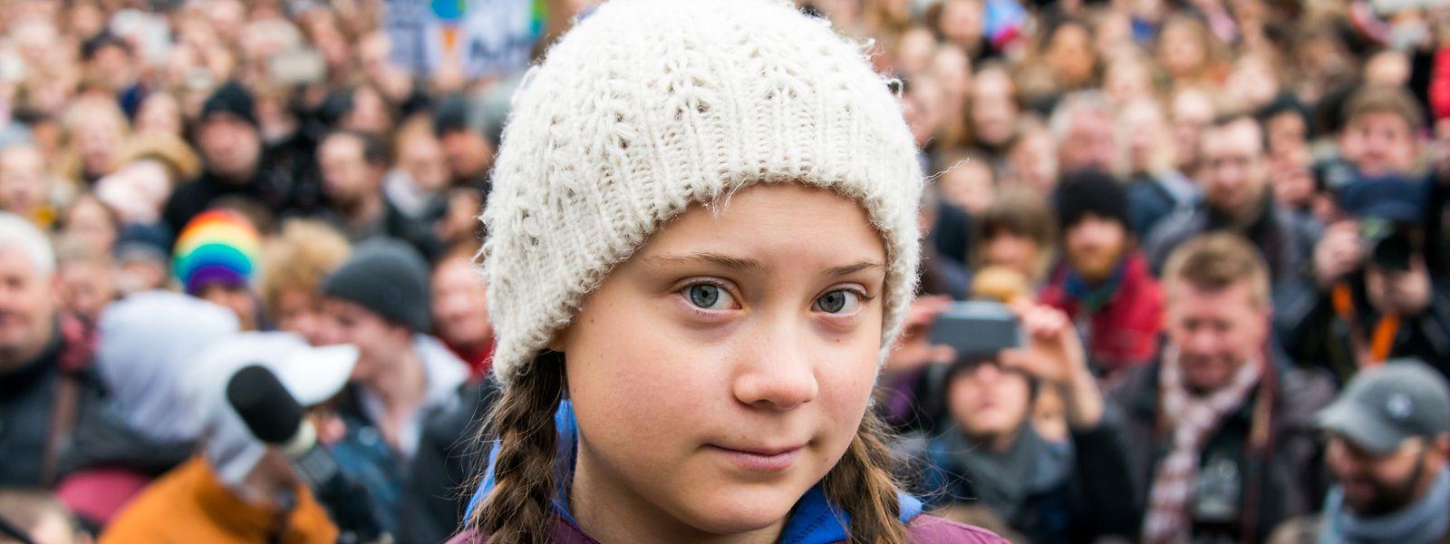 Greta Thunberg schrieb, sie fühle sich geehrt und sei sehr dankbar über die Nominierung.