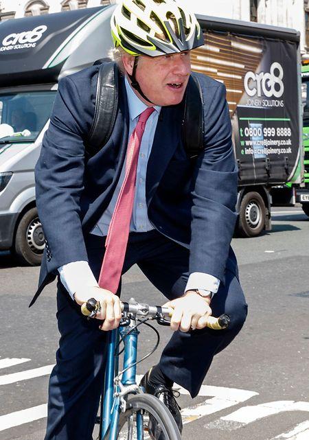 Weg frei für Boris: Der frühere Außenminister Boris Johnson schielt auf den Parteivorsitz der britischen Konservativen.